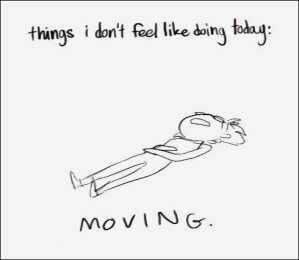 Things I don't feel like doing today